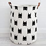 BoTen Canvas Storage Bag Children's Toys Storage Boxes Household Recyclable Storage Bag (Batman)