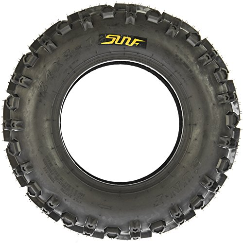 SunF 24x8-12 24x8x12 All Terrain Mud ATV UTV Tires 6 PR A041 (Set pair of 2) by SunF (Image #2)