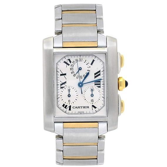 Cartier Tank Cuarzo Mens Reloj 2303 (Certificado) de Segunda Mano