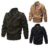 Men Jacket Plus Size,Vanvler Male Military Clothing Tactical Coat Breathable Light Windbreaker