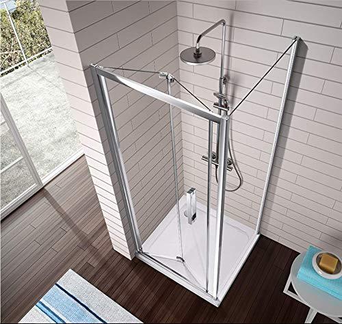 Lateral para frente de ducha S300 CRISTAL DECORADO: Amazon.es ...