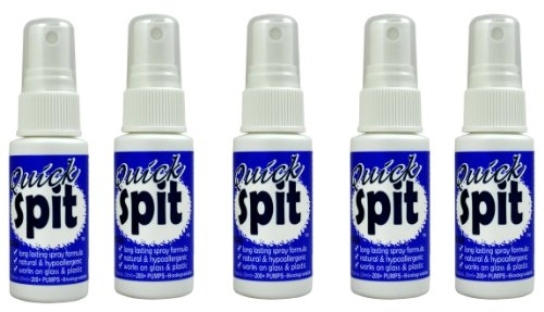 Jaws Quick Spit Anti-Fog Spray (1 oz.) 5 Pack ()