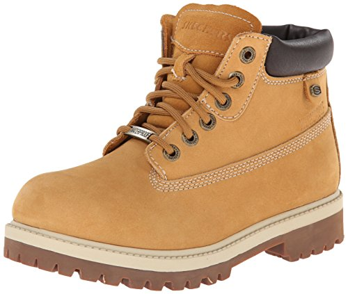 6 Padded Eye Boot Collar (Skechers Women's Rager Engineer Boot,Wheat,6 M US)