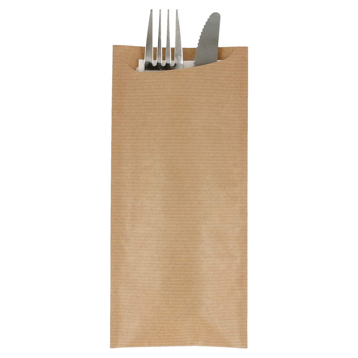 Cutlery Sachets White Napkin Just In Time
