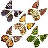 Gold Happy 20pcs Magic Toys Hand Transformation Fly Butterfly magic tricks Novelty Surprise Prank Joke Mystical Fun Classic Toys gadgets