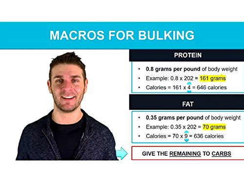 Massive Action- Macros For Bulking