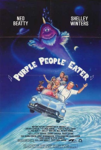 Purple People Eater Poster Movie
