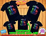 PJ Masks Birthday Shirt, PJ Masks Custom Shirt, Personalized PJ Masks Shirt, Pj Masks family shirts, Birthday t-shirt for girls and boys
