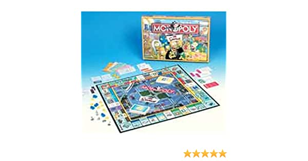 Mb espa¥a, s.a. - Monopoly simpsons hasbro: Amazon.es: Productos para mascotas