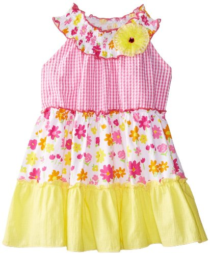 Girl 4t 4 Rare Editions (Rare Editions Girls 2-6X Tiered Print Dress (4T))