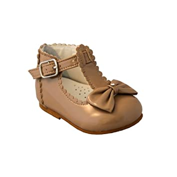 cd4768f3826d SEVVA Sally Baby Girl First Walking Shoe with T-Bar
