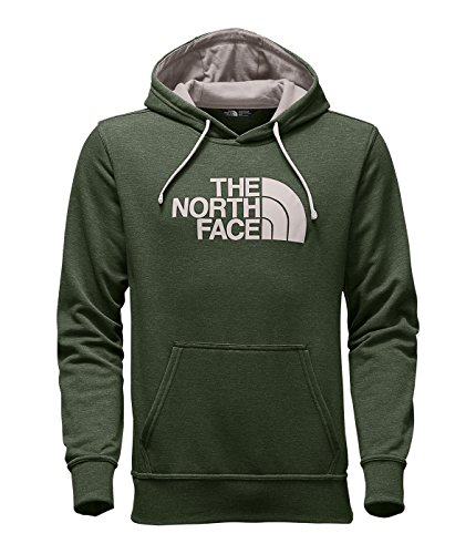 The North Face Men's Half Dome Hoodie, Thyme Heather/Rainy Day Ivory, Small
