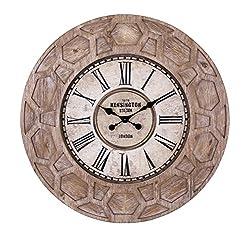 IMAX Finn Wall Clock Large Candleholder