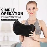 Massager pillow shiatsu Deep Kneading Massage Pillow 4 rollers...