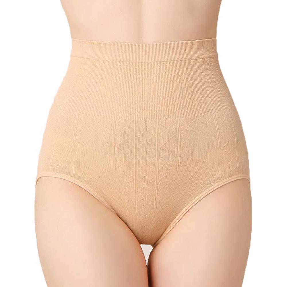a7769bf2d3 Amazon.com   QIQI Postpartum Repair Seamless One-Piece High Waist Postpartum  Abdomen Hip Warm Stomach Ladies Belly Pants Two Packs