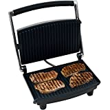 Panini Press Grill and Gourmet Sandwich Maker for Healthy Cooking by Chef Buddy 3-Pack