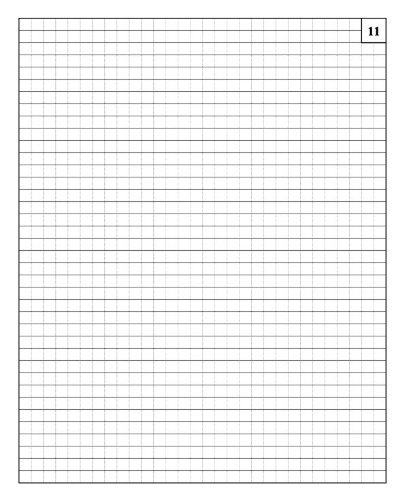 BookFactory Black Graph Paper Notebook / 4 X 4 Quad Ruled Notebook / Quadrille Notebook - 168 Pages (.25 Grid Format), 8'' x 10'', Black Cover, Smyth Sewn Hardbound (GRD-168-SGP-A-LKT00) by BookFactory (Image #3)