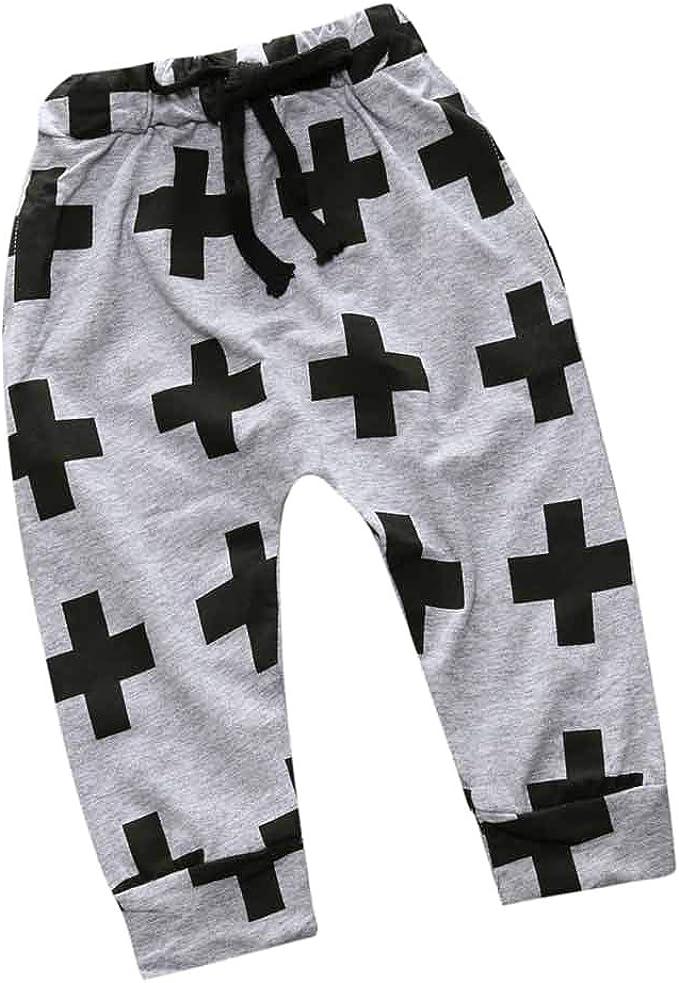 Toddler Kids Baby Boys Girl Harem Pants Trousers Stars Bottoms Legging Clothes
