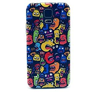 YULIN Samsung S5 I9600 compatible Graphic/Cartoon/Special Design Plastic Back Cover