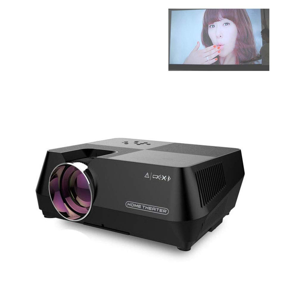 LiChenYao LED Projector HD Smart Projector Mobile Projector