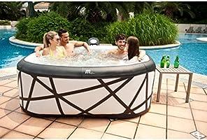 Jacuzzi hinchable cuadrado.: Amazon.es: Jardín