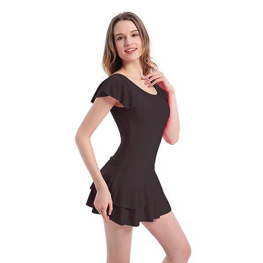 Caige Vestido de natación de Las Mujeres Envuelve Traje de ...