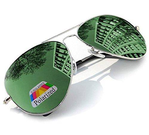 de para 4sold sol hombre Gafas Verde q1cgcA