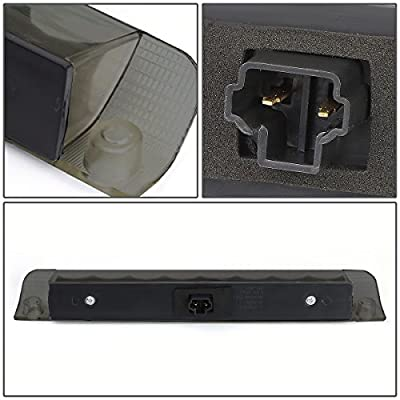 DNA MOTORING Black 3BL-TRAV409-LED-BK-SM Smoke Lens LED 3rd Brake Light [for 09-13 Corolla/Highlander]: Automotive
