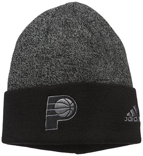 (NBA Detroit Pistons Fanwear Cuffed Pom Knit , One Size)