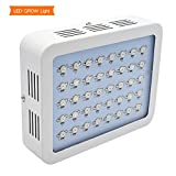DILIYA 120W LED Grow Light Full Spectrum Grow Lamp with UV&IR for Greenhouse Hydroponic Indoor Plants Veg and Flower All Phases of Plant Growth