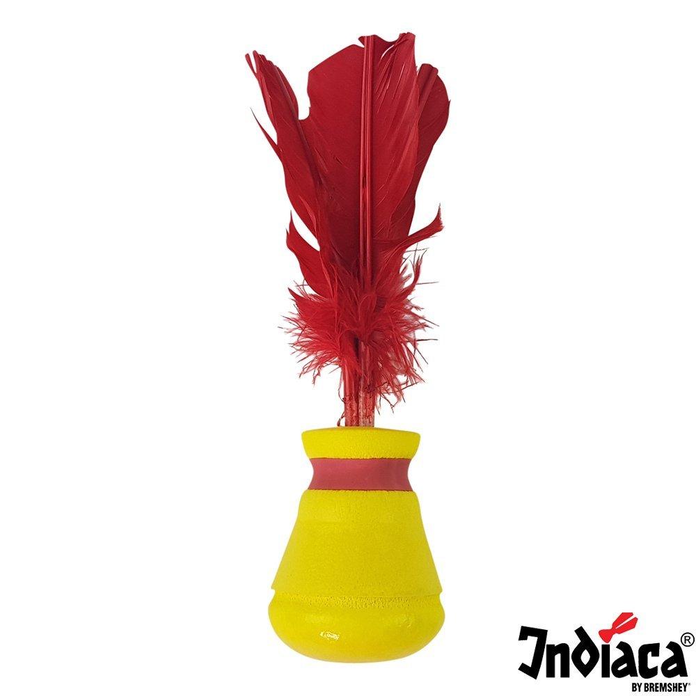 Tunturi 08BRSGA001 Palla Indiaca - Pallina Indiaca - Gialla, Unisex – Adulto, Yellow, Taglia Unica Unisex - Adulto