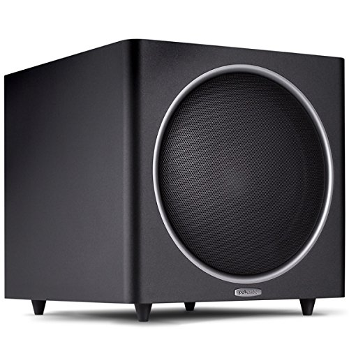 Polk Audio PSW125 12-Inch Powered Subwoofer (Single, Black) by Polk Audio