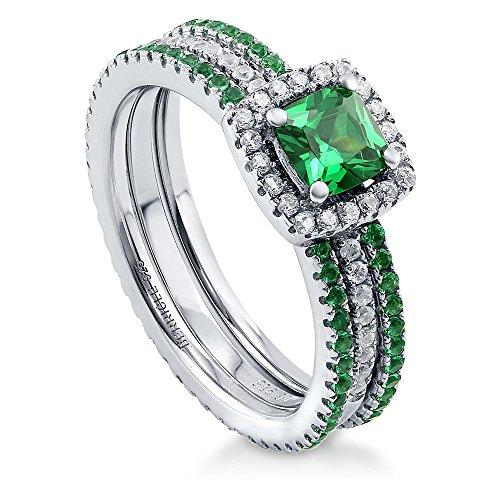 0.50 Carats Emerald Ring - 4