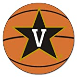 Kyпить FANMATS NCAA Vanderbilt University Commodores Nylon Face Basketball Rug на Amazon.com