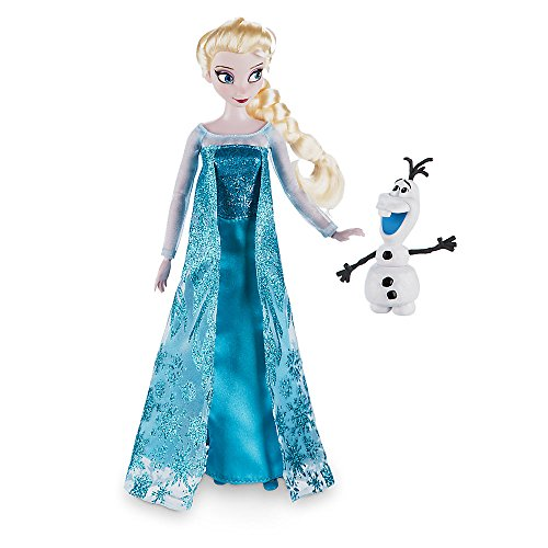 Disney Frozen Elsa Classic Doll with Olaf Figure - 12 Inch