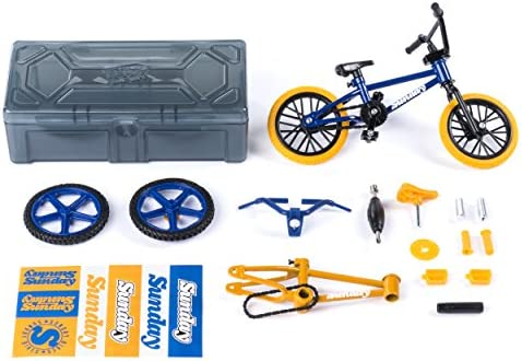 Tech Deck Bmx Bike Shop With Accessories And Storage Container Sunday Bikes Blue Yellow Amazon Com Au Toys Games