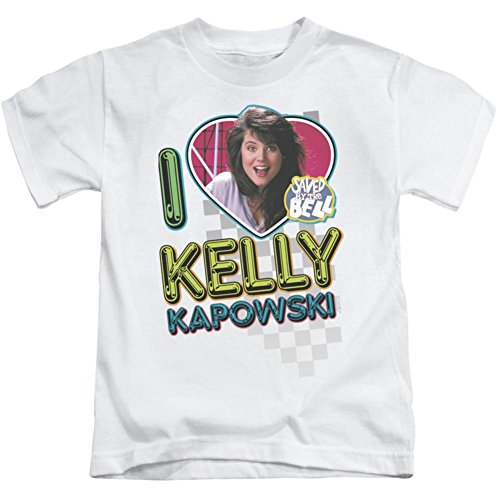 Juvenile: Saved By The Bell - I Love Kelly Kids T-Shirt Size 4 by Saved By The Bell