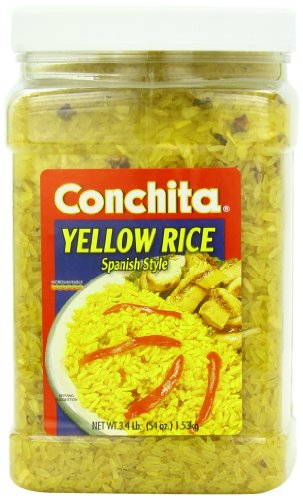 Conchita Foods Rice, Spanish Yellow, 54-Ounce