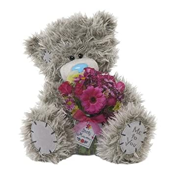 10 lovely mum flower bouquet me to you bear - Peluche Me To You