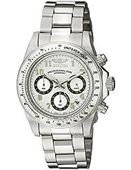 Invicta Mens 17023 Speedway Analog Display Japanese Quartz Silver Watch