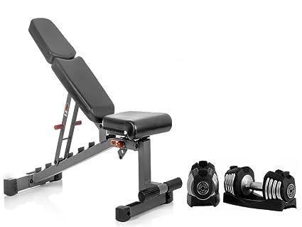 Amazon Com Xmark Fitness Combo Offer Adjustable Dumbbell