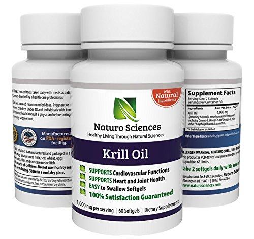 Krill Oil 1000mg par les sciences