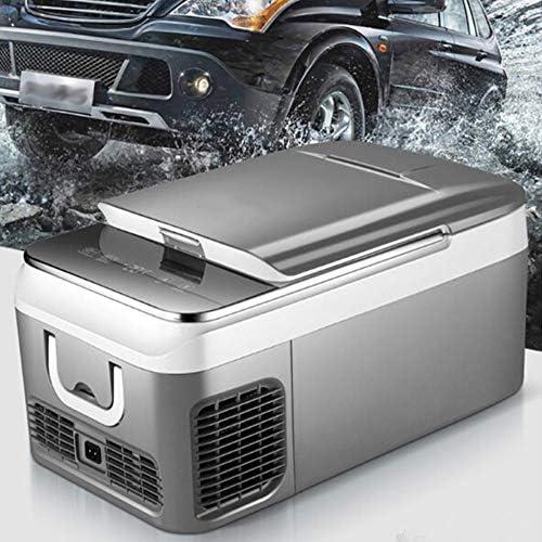 18L / 26Lカー冷蔵庫カーホームピクニック冷蔵冷凍庫用コンプレッサーDC 12V、24Vのカー冷蔵庫冷凍庫クーラー-20〜10度,26l