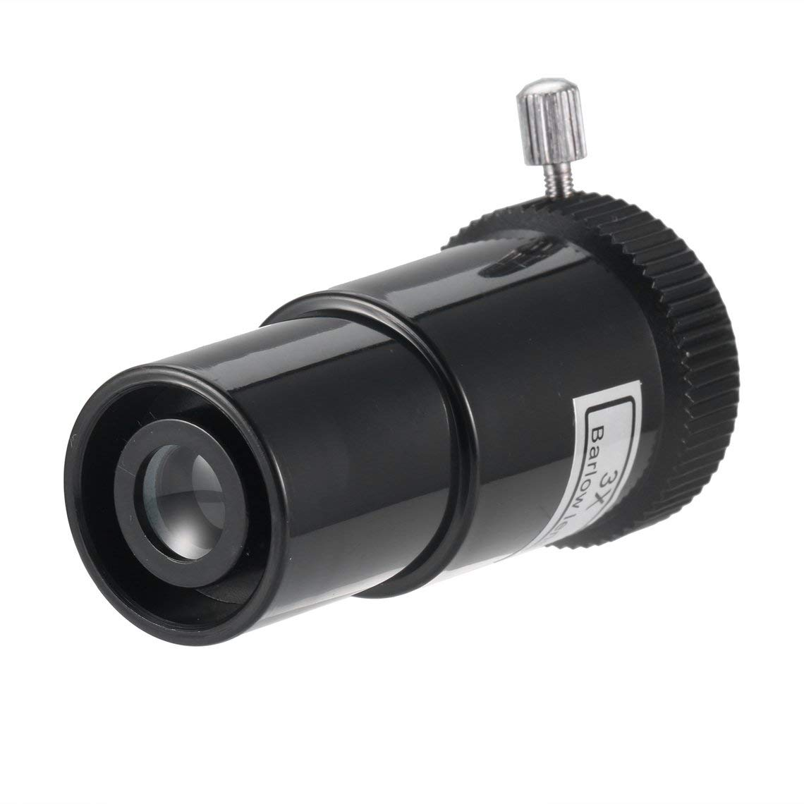 Zinniaya 0.965 Pulgadas 3X Barlow Lente de Vidrio /óptico ABS Marco de pl/ástico 3X para Accesorios de Ocular telescopio astron/ómico