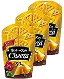 江崎グリコ 生チーズのチーザ チェダーチーズ 40g×3本