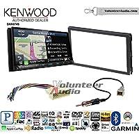 Volunteer Audio Kenwood DNX874S Double Din Radio Install Kit with GPS Navigation Apple CarPlay Android Auto Fits 2007-2010 Hyundai Elantra