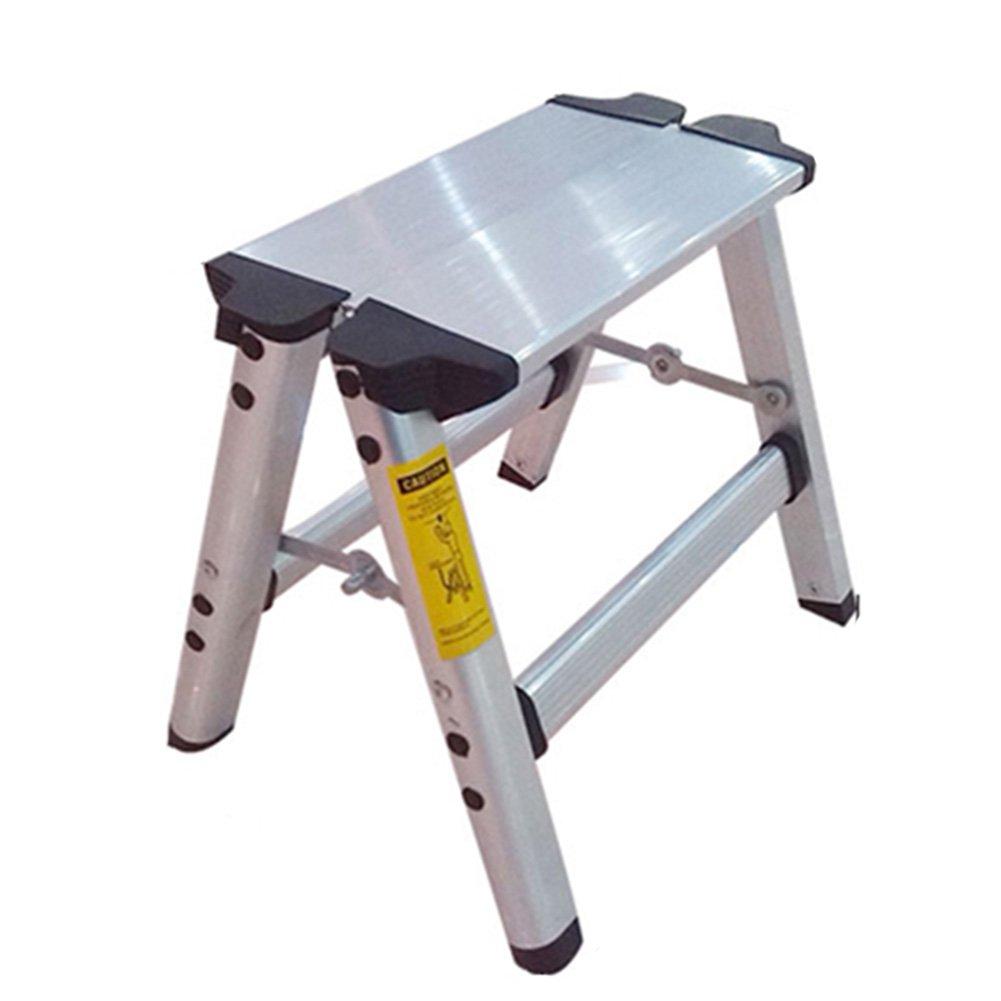 TH 階段スツールフォールドラダーアルミ合金2ステップスティッキングステップスツールペダルデュアル目的の椅子キッチンはしごスツール B07F2R363K