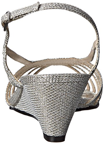 Caparros Women's Tango Dress Sandal Silver EyLlDRq0IN