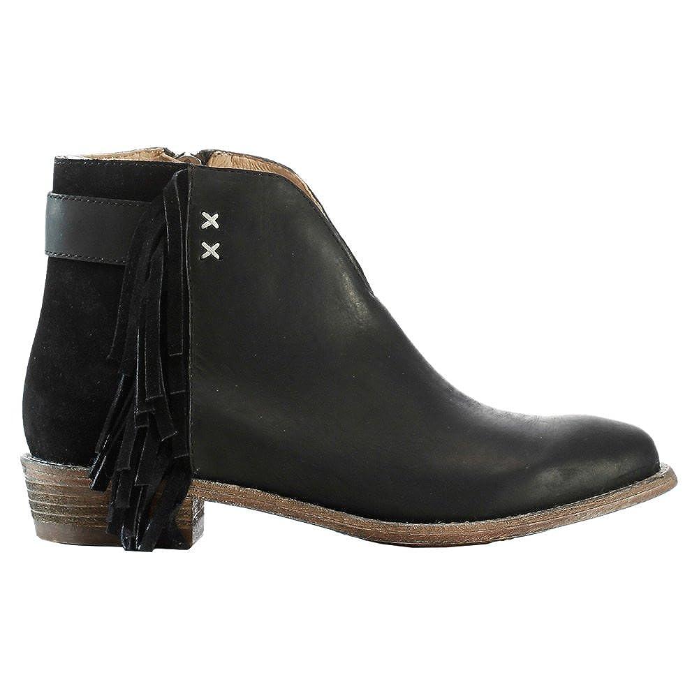2c559aa2a95 Koolaburra Womens Dallas Leather Fringe Ankle Boots