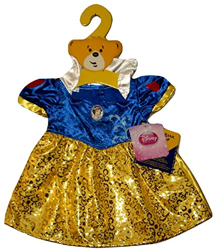(Build a Bear Snow White Costume Dress Teddy Size Outfit)